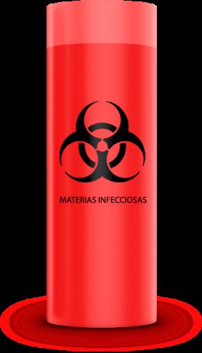 Bolsa residuos biocontaminados